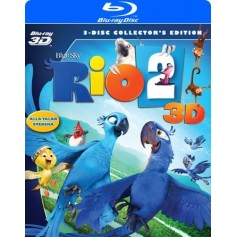 Rio 2 (Blu-ray + Real 3D)