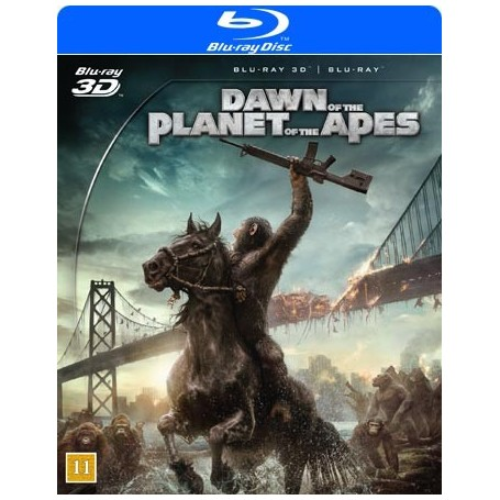 Apornas Planet - Uppgörelsen (2-disc) (Blu-ray + Real 3D)
