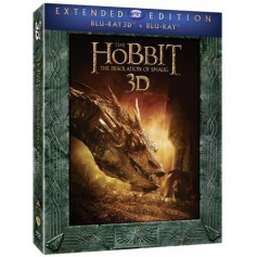 Hobbit - Smaugs Ödemark - Extended Edition (5-disc) (Blu-ray + Real 3D)