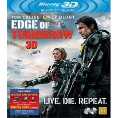 Edge of Tomorrow (Real 3D + Blu-ray)