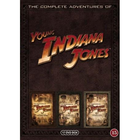 Young Indiana Jones: The Complete Adventures (17-disc)