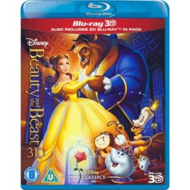 Beauty and the Beast (Blu-ray 3D) (Import)