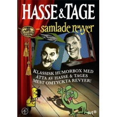 Hasse & Tage - Samlade revyer (6-disc)