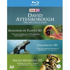 David Attenborough: The 3D Collection (Blu-ray 3D) (Import)