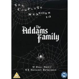 Familjen Addams - Säsong 1-3 (9-disc) (Import sv.text)