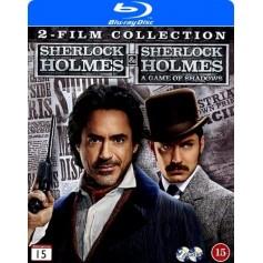 Sherlock Holmes / Sherlock Holmes 2 - A Game of Shadows (2-disc) (Blu-ray)