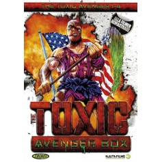 The Toxic Avenger 1-4 Box (4-disc)