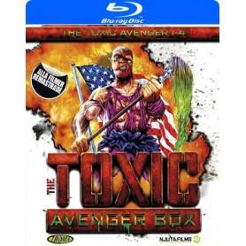 The Toxic Avenger 1-4 Box (Blu-ray)
