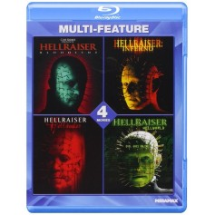 Hellraiser Collection (4-movies) (Blu-ray) (Import)