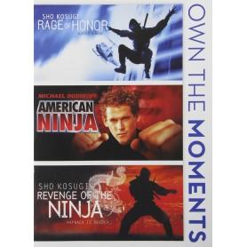 Triple Ninja (Rage og Honor, American Ninja, Revenge of the ninja) (Import)