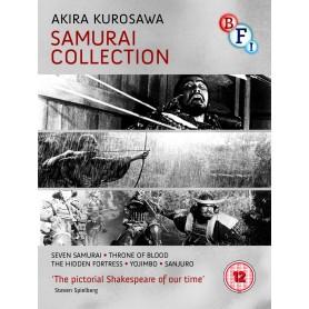 Akira Kurosawa - The Samurai Collection (Blu-ray) (Import)