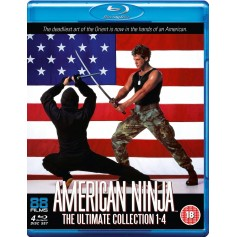 American Ninja - The Ultimate Collection 1-4 (Blu-ray) (Import)