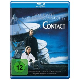 Contact (Blu-ray) (Import svensk text)