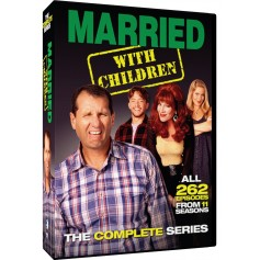 Married with children - Complete Series (262 avsnitt!!) (Import)