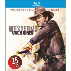 Westerns Unchained (25 filmer!) (Blu-ray) (Import)