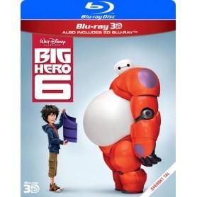 Big Hero 6 (Real 3D + Blu-ray)