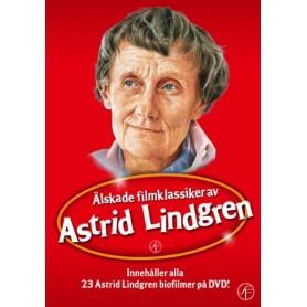 Astrid Lindgren - Älskade Filmklassiker av (23-disc)