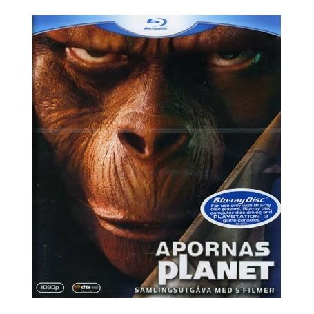 Apornas Planet - 5 filmer (Blu-ray)