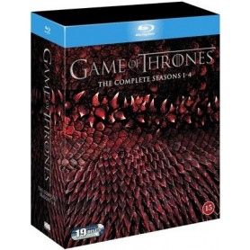 Game Of Thrones - Säsong 1-4 (Blu-ray)