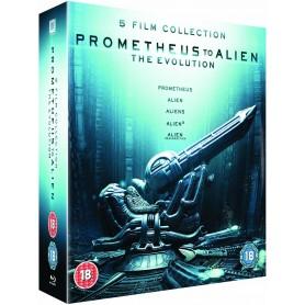 Prometheus to Alien: The Evolution Box Set (8-Disc Set) (Import)