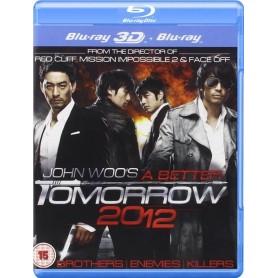 A Better Tomorrow 2012 3D (John Woo) (Blu-ray 3D + Blu-ray) (Import)