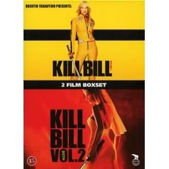 Kill Bill - Volym 1 / Kill Bill - Volym 2 (2-disc)