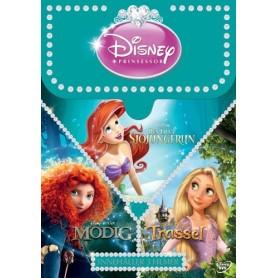 Disney Prinsess Box 3-filmer (3-disc)