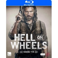 Hell On Wheels - Säsong 2 (Blu-ray)