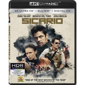 Sicario - 4K Ultra HD Blu-ray + Blu-ray (Import)