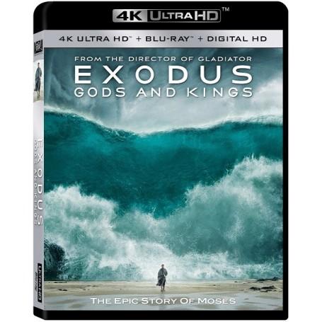 Exodus - Gods and kings - 4K Ultra HD Blu-ray + Blu-ray (Import)