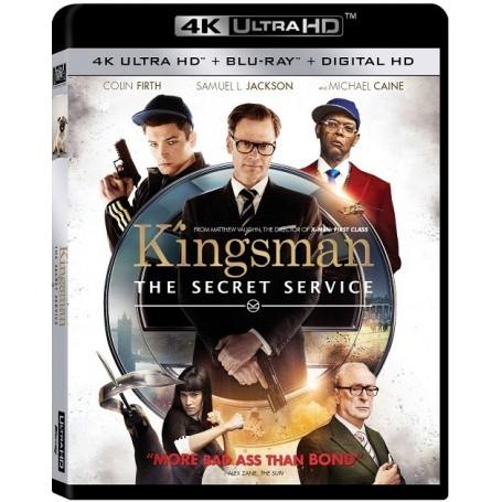 Kingsman - 4K Ultra HD Blu-ray + Blu-ray (Import)