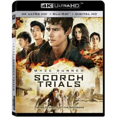 Maze Runner - The Scorch Trials - 4K Ultra HD Blu-ray + Blu-ray (Import)