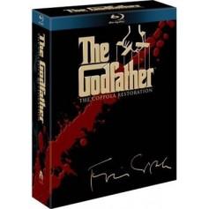 Godfather Trilogy: The Coppola Restoration (4-disc) (Blu-ray) (Import svensk txt)