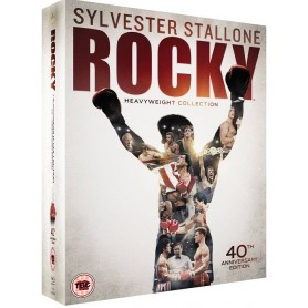Rocky - Heavyweight collection (Blu-ray) (6-disc) (Import Sv.Text)