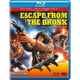 Escape From the Bronx - Collector's edition (Blu-ray + DVD) (Blue Underground) (Import)