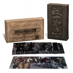 Sons of Anarchy - Complete seasons: Limited wooden box (30-disc)