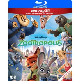 Zootropolis (Real 3D + Blu-ray)
