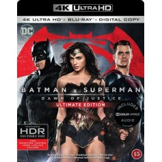 Batman v Superman - Dawn of Justice (4K Ultra HD Blu-ray)