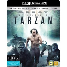 Legenden Om Tarzan (4K Ultra HD Blu-ray)