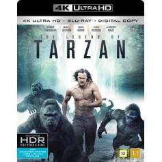 Legenden Om Tarzan (4K Ultra HD Blu-ray)