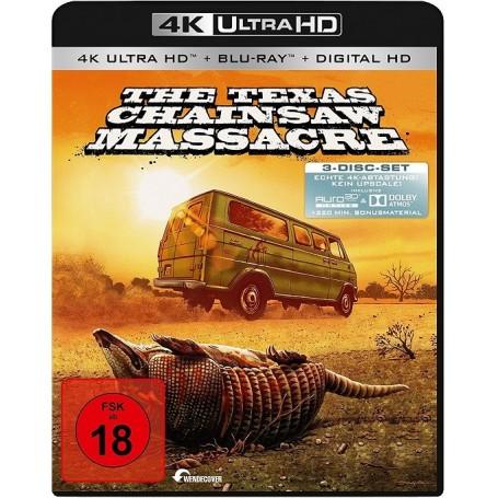 Texas Chainsaw Massacre (4K Ultra HD) + (2 Blu-ray) (Import)
