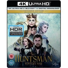 Huntsman - Winter's War (4K Ultra HD Blu-ray) (Import svensk text)