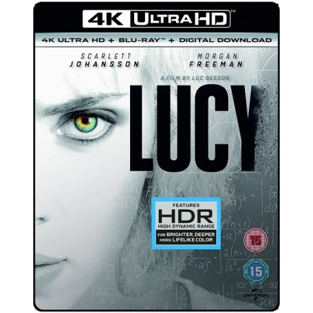 Lucy (4K Ultra HD Blu-ray) (Import svensk text)