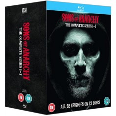 Sons of Anarchy - Complete seasons (Blu-ray) (23-disc) (Import)