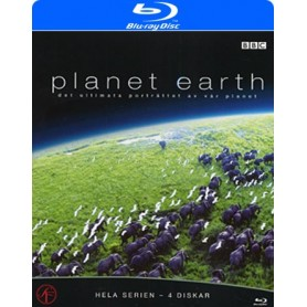 Planet Earth - Hela serien (4-disc) (Blu-ray)