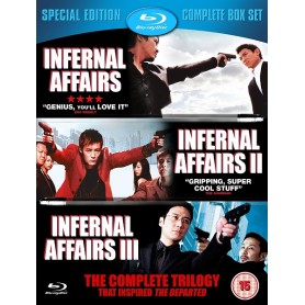 Infernal Affairs - The Complete Trilogy (Blu-ray) (Import)