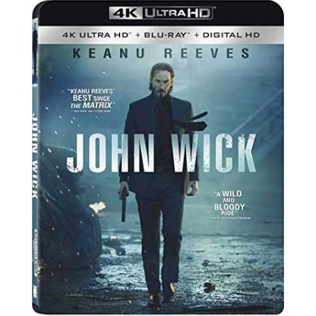 John Wick (4K Ultra HD + Blu-Ray) (Import)