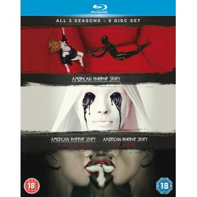 American Horror Story - Season 1-3 (Blu-ray) (Import)