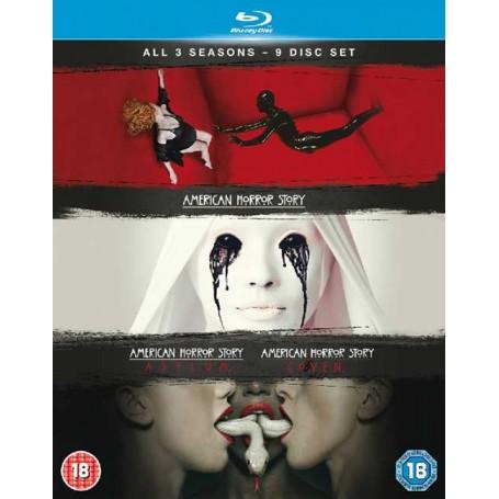 American Horror Story - Season 1-3 (Blu-ray) (Import)