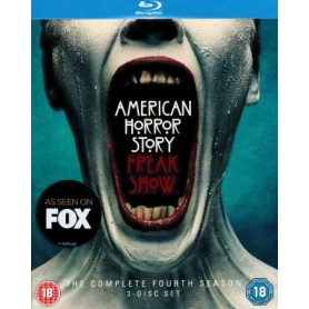 American Horror Story - Freak Show - Season 4 (Blu-ray) (Import)